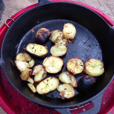 refried potatoes